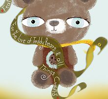""""""" Featured in for the love of teddy bears and all things cuddly """" by Ruth Fitta-Schulz"""