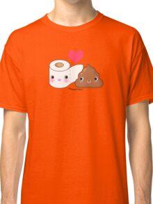 BFF Toilet Paper & Poop Classic T-Shirt