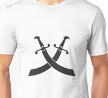 pirat saber sword icon  Unisex T-Shirt