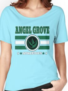 Angel Grove Athletics - Green Women's Relaxed Fit T-Shirt