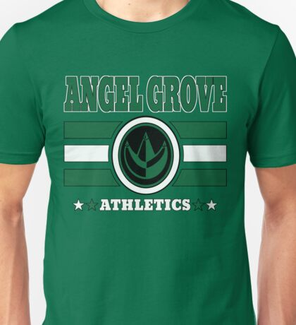 Angel Grove Athletics - Green Unisex T-Shirt