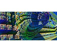 Abstract Fractal - CG render Photographic Print