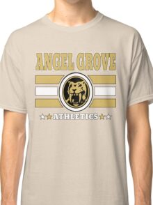 Angel Grove Athletics - Yellow Classic T-Shirt