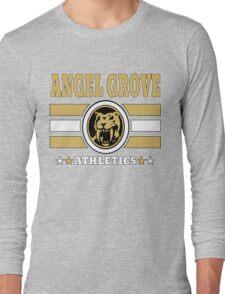 Angel Grove Athletics - Yellow Long Sleeve T-Shirt