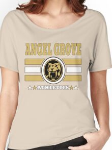 Angel Grove Athletics - Yellow Women's Relaxed Fit T-Shirt