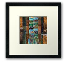 Abstract Composition – February 8, 2011 Framed Print