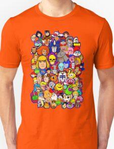 saturday morning collage Unisex T-Shirt