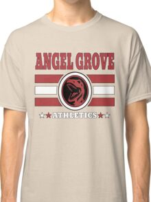 Angel Grove Athletics - Red Classic T-Shirt