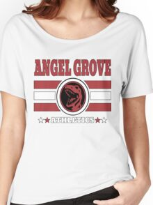 Angel Grove Athletics - Red Women's Relaxed Fit T-Shirt