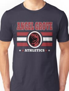 Angel Grove Athletics - Red Unisex T-Shirt