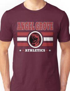 Angel Grove Athletics - Red Unisex T-Shirt