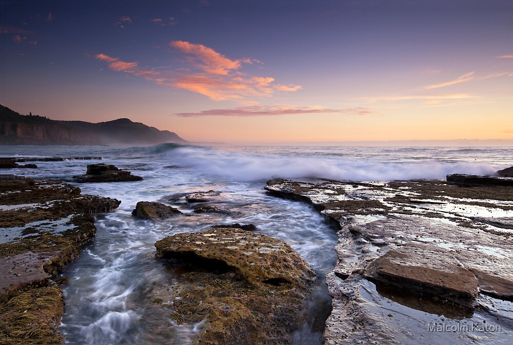 Coalcliff in Colour by Malcolm Katon