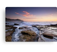 Coalcliff in Colour Canvas Print