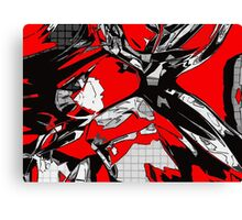 Blood Diamond Canvas Print