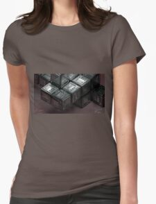 Cosmic Dice - Computer Graphics Womens Fitted T-Shirt