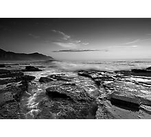 Coalcliff in B & W Photographic Print