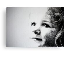 A little ray of sunshine Canvas Print