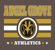 Angel Grove Athletics - White by Vitalitee