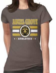 Angel Grove Athletics - White Womens Fitted T-Shirt