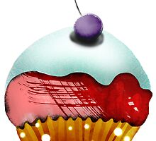 cupcake icecream dessert art by rupydetequila