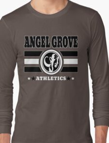 Angel Grove Athletics - Black Long Sleeve T-Shirt