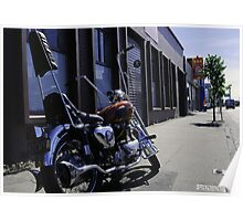 Motor Cycle Poster