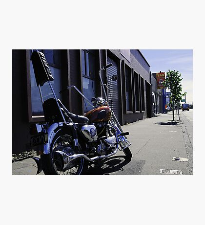 Motor Cycle Photographic Print