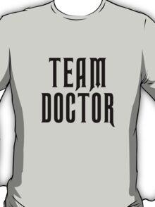 Team Doctor - Black T-Shirt
