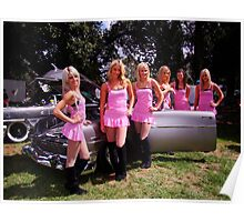 Glamazons and Cars Poster