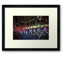 Chinese New Year Festival Framed Print
