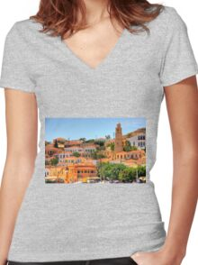 Diggers Women's Fitted V-Neck T-Shirt