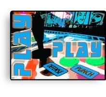 Play - Arcade Life Canvas Print