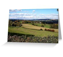 Ecclesbourne Valley Greeting Card