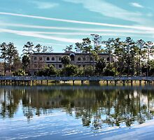 Reflections At The Lake by Deborah  Benoit