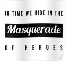 Masquerade. Poster