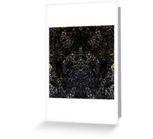Lava King - Abstract Fractal Greeting Card
