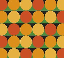 70's retro style dotted pattern by geum