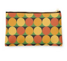 70's retro style dotted pattern Studio Pouch