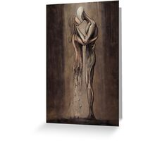 Entropy of Love Greeting Card