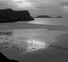 Rhossili Bay, Gower Peninsula, Wales by Mark Whitehouse