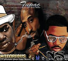 Tupac Nas and NotoriougB.I.G by blueunique