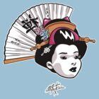 geisha by calamarkes