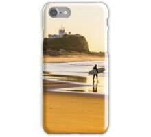 Nobbys Beach Surfer iPhone Case/Skin