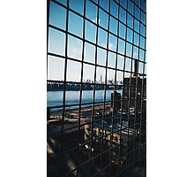 Empire State Through Cage Photographic Print
