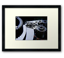 The #4 Driver if you please. Framed Print