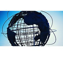 Flushing Meadows Globe Photographic Print