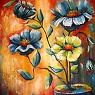 Wild Flowers by Pamela Plante