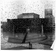 Salford Rain Poster