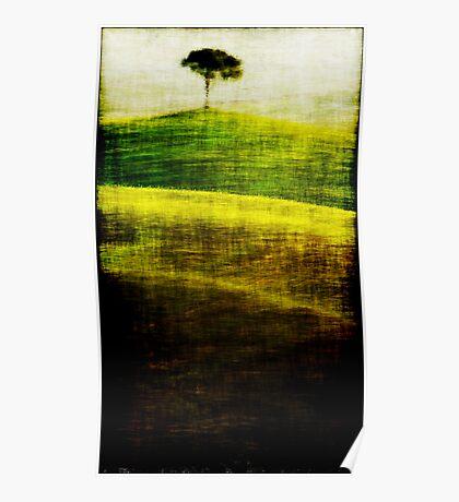 Tree  batik illustration Poster