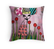 The Red Daffodils Empress  133views 20/03/11 Throw Pillow